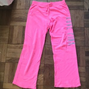 PINK Sweatpants Size Medium